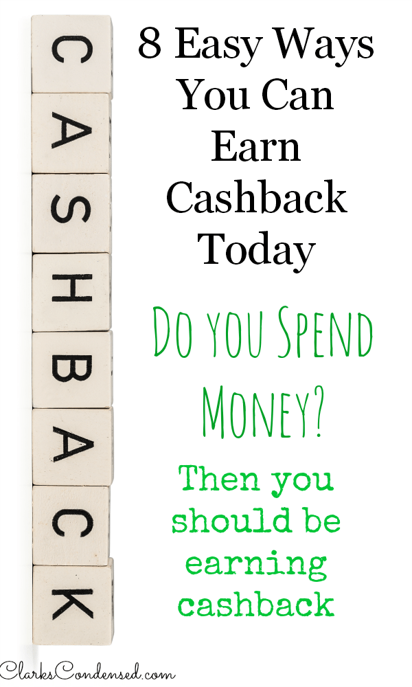 Do you spend money? Of course you do! But are you earning cashback? Anyone who spends money should be. Here are 8 easy ways to earn cashback on purchase you make every day.