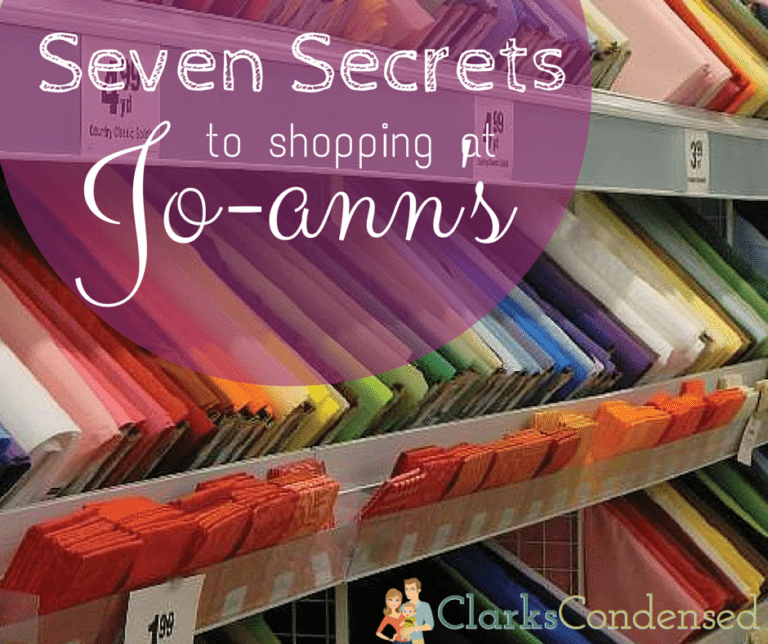 Top Secrets for Shopping at Joann Fabric - Including the