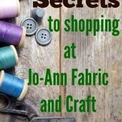 Secrets for Shopping at Jo-Ann's