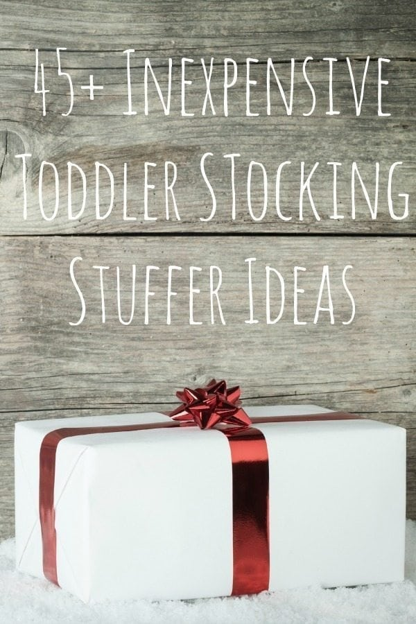45+ Inexpensive Stocking Stuffers for Toddlers