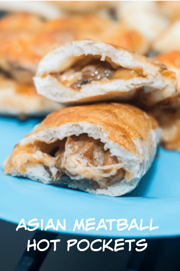 Asian Meatball Homemade Hot Pocket Recipe