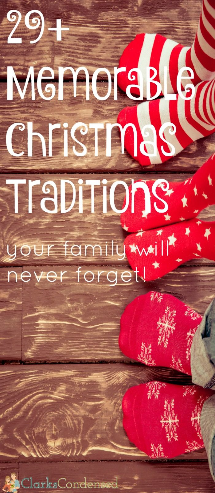 30+ Christmas Traditions for Families