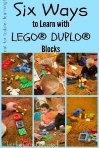 Six Ways to Learn with LEGO® DUPLO® Blocks