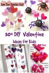 30 DIY Valentine's Day Ideas for Kids