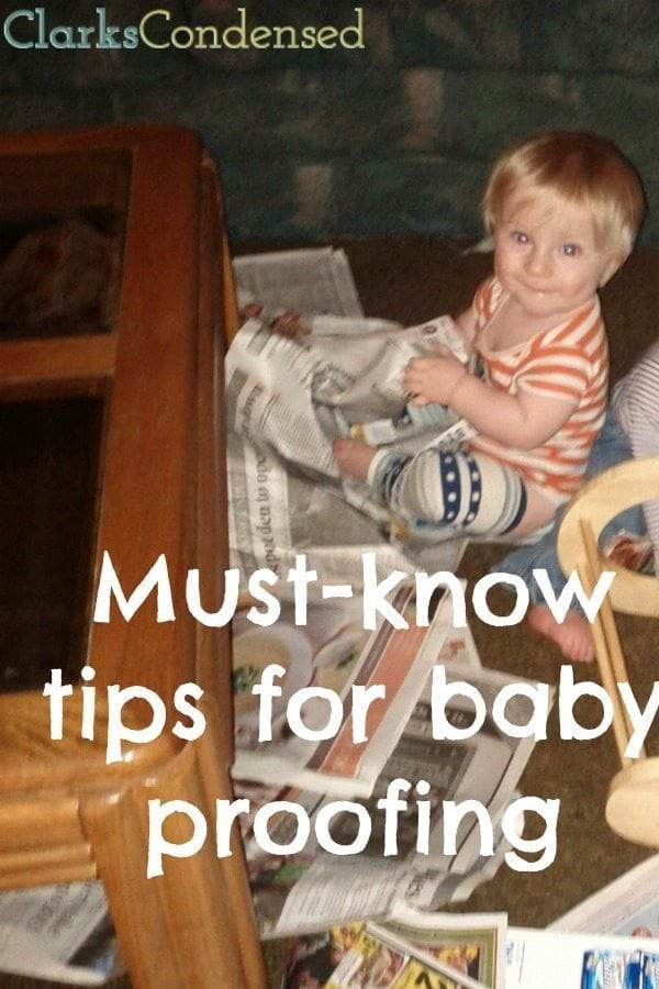 Looking for ways to baby proof your home? Here are some must-know tips for baby proofing that every parent, grandparent, or care giver should know.