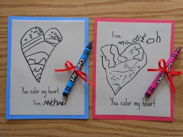 Diy Valentine Cards For Kids 7. U201c