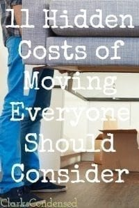 Hidden Moving Costs: 11 Things You Should Know
