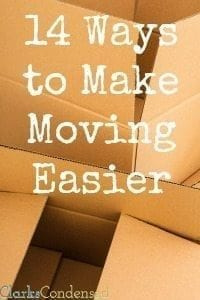 14 Ways to Make Moving Easier