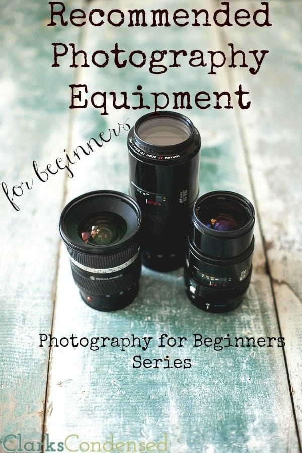 Just learning the ropes of photography? Here are some photography equipment recommendations that should get you started on the right foot.