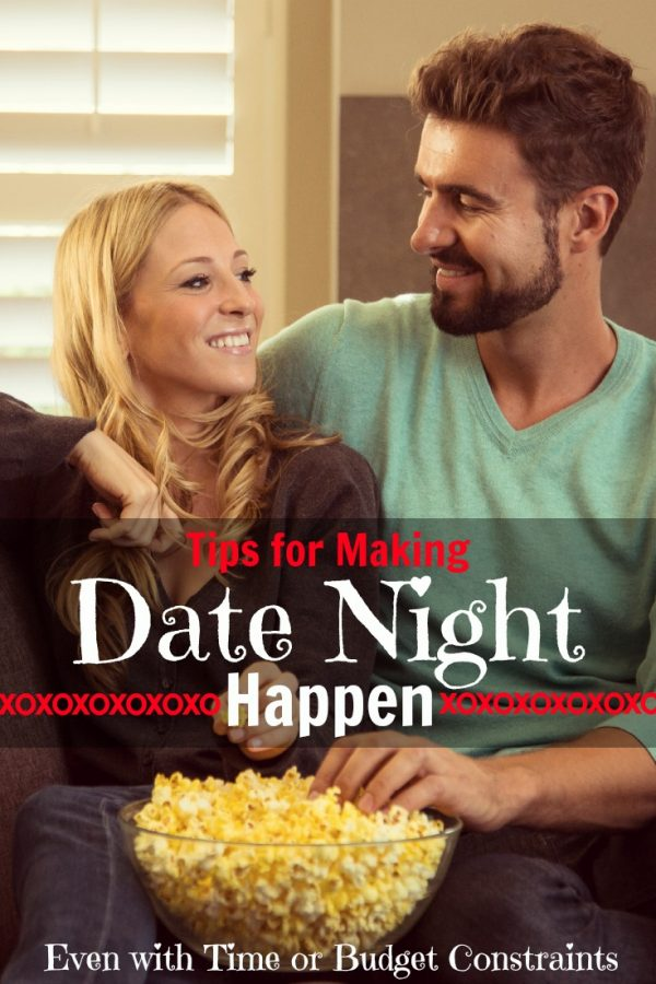 Tips for Making Date Night Happen