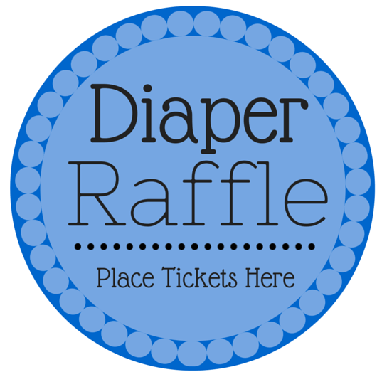 Printable Diaper Raffle Ticket Template for Pinterest