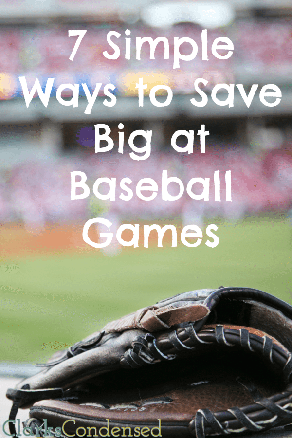 How to Save Money at Baseball Games