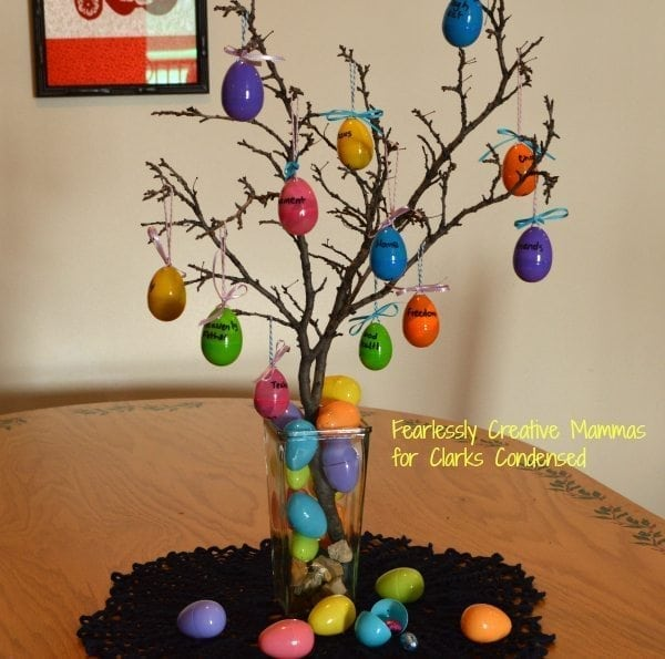 Easter Advent Tree