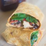 Easy BBQ Chicken Wrap