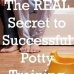 The Secret to Potty Training Success