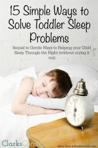 How to Get a Toddler to Sleep: 15 Simple Ways
