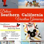 Unofficial Disneyland Activity Book and Huge Southern California Giveaway!
