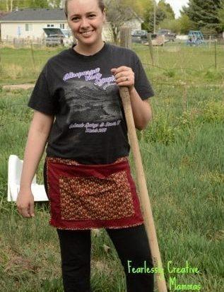 Gardening Apron Tutorial