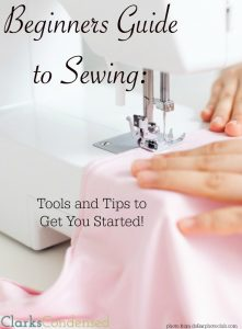 Beginning Sewing Essentials: Learn to Sew
