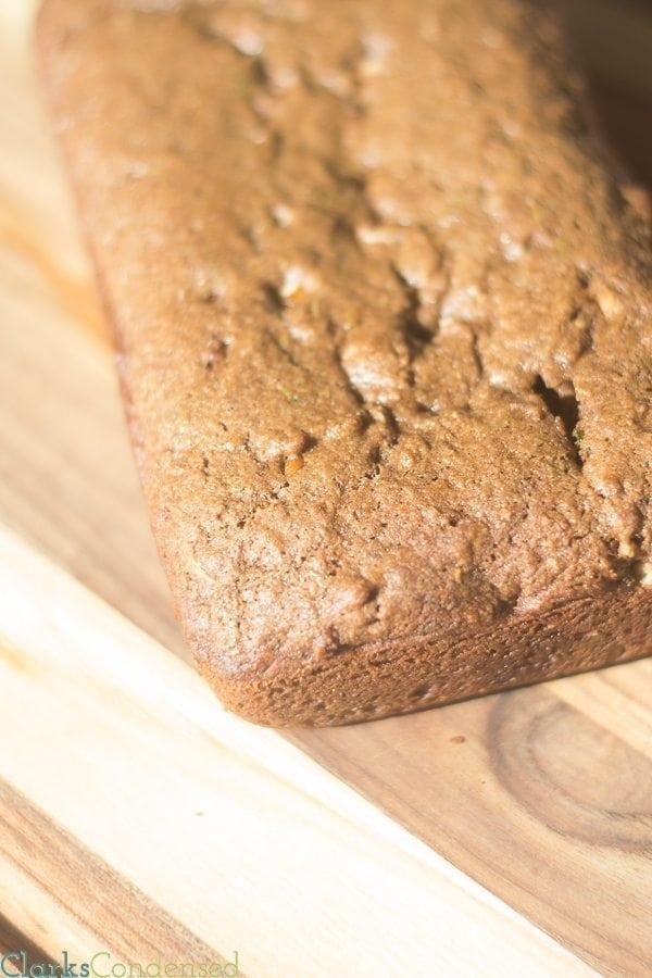 Spiced Chocolate Zucchini Bread Recipe