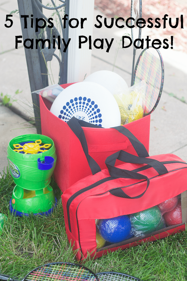 Tips for Throwing a Family Play Date & Giveaway!