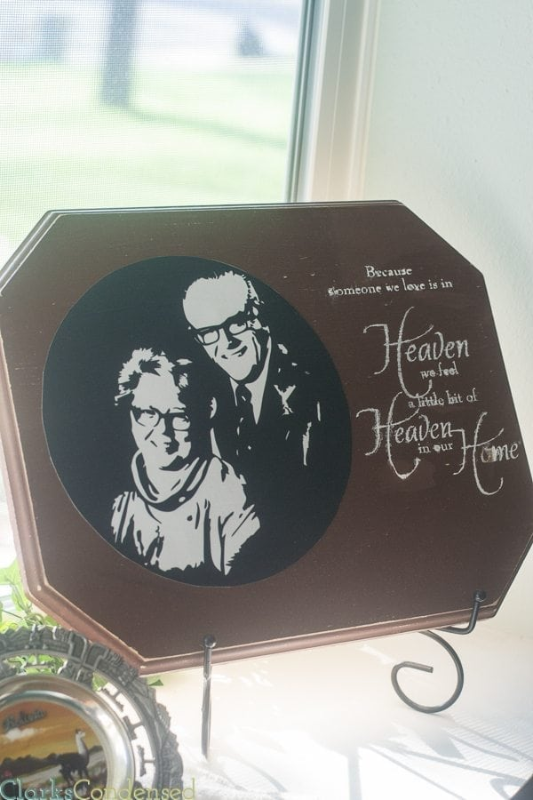 This memorial gift idea is a great way to remember someone who has passed on.