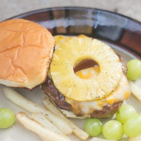 Easy Hawaiian Burger
