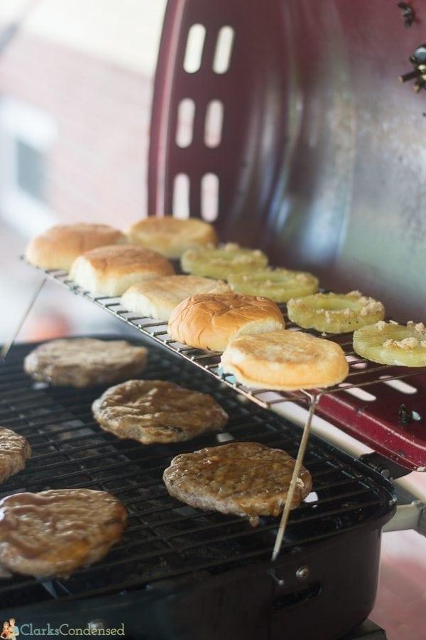 Easy Hawaiian Teriyaki Burger Recipe