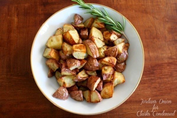 Rosemary roasted red potatoes