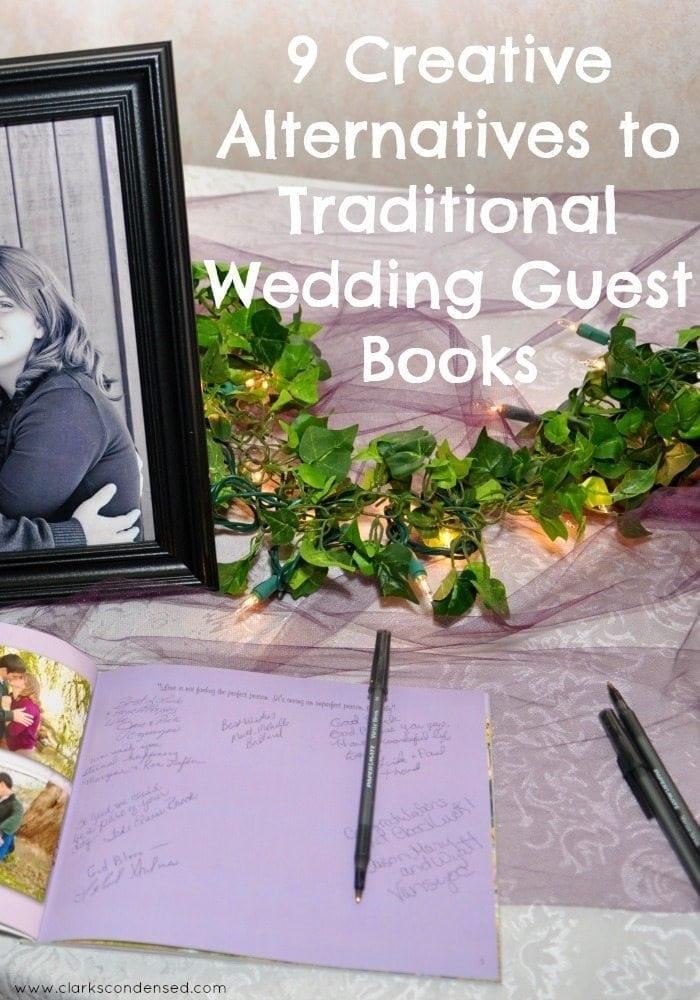 9 Creative Wedding Guest Book Ideas