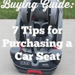 7 Tips for Car Seat Shopping