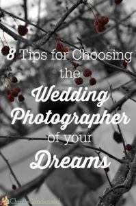 How to Choose a Wedding Photographer You'll Love