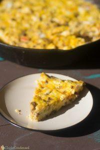 One Skillet Chorizo Breakfast Casserole Recipe