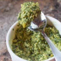 Easy Pesto Sauce Recipe and Hamilton Beach Blender Giveaway