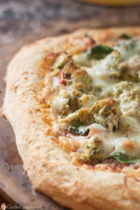 Naan Pizza Crust Recipe