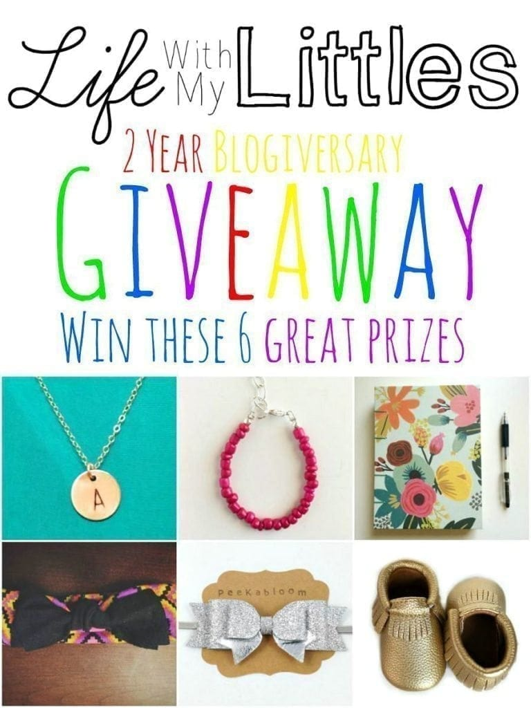 Life with My Littles Blogiversary Giveaway!