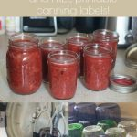 Canning Party Ideas and Free Canning Label Printable