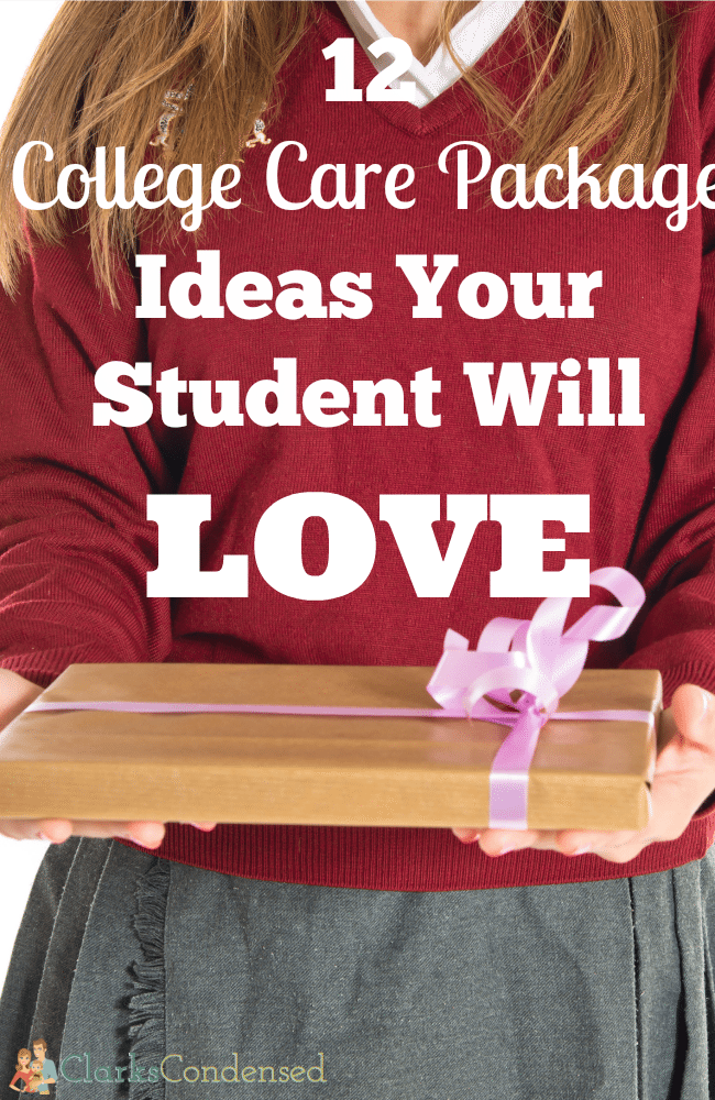 12 College Care Package Ideas Your Student Will Love