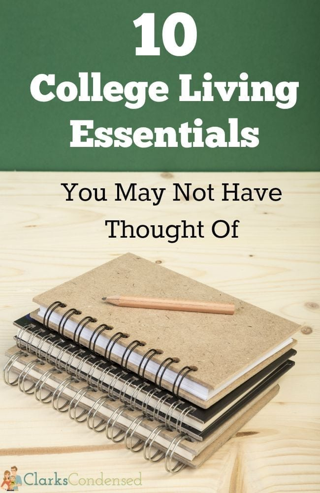 Five College Essentials You May Not Have Thought Of
