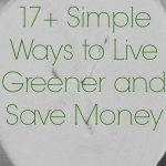 17+ Simple Ways to Live Green and Save Money