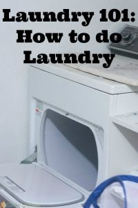 How to do Laundry: Laundry Hacks and Tips