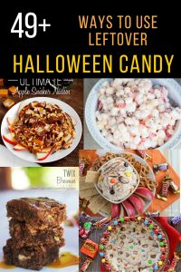 50+ Ways to Use Leftover Halloween Candy
