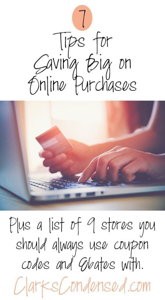 7 Tips for Saving Big on Online Purchases