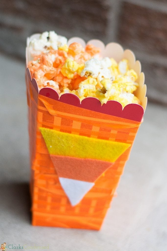 candy corn pop corn