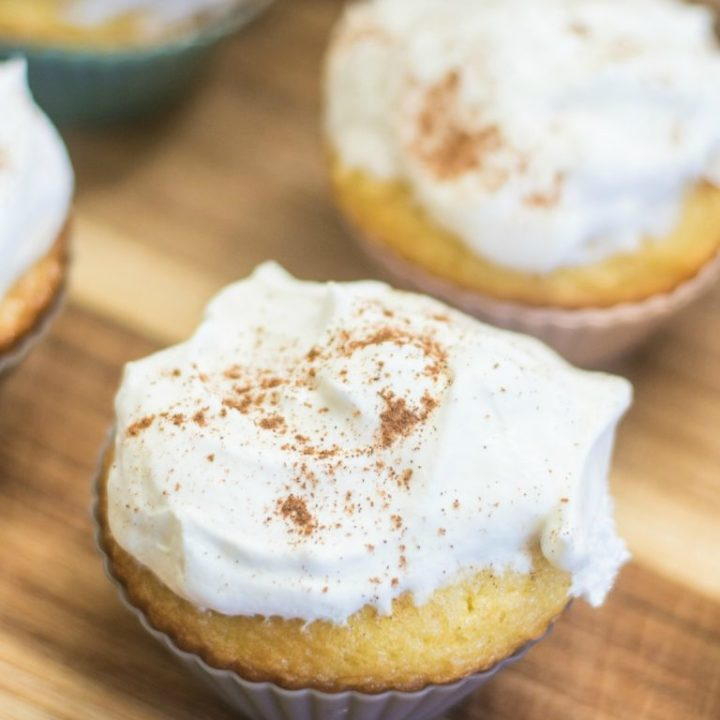 Dairy Free Tres Leches Cake And Cupcakes