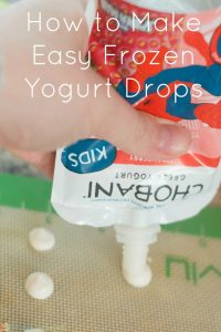 Easy Yogurt Drops