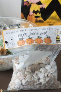 Pumpkin Patch Puppy Chow and Free Charlie Brown Printable