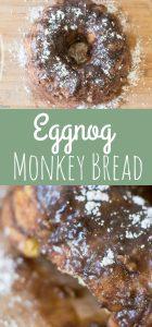 Eggnog Monkey Bread Recipe