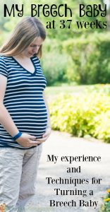 My Breech Baby: How to Turn a Breech Baby