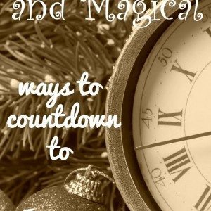 10 Ways to Countdown to Christmas